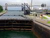 Sault Ste. Marie locks, flooding the lock