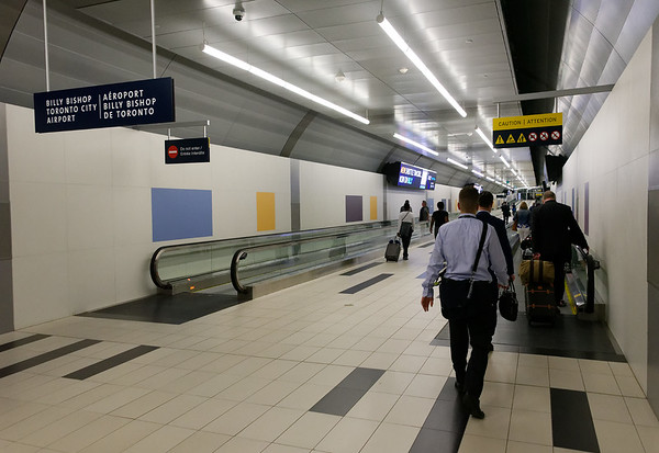 Toronto Ontario, at the airport