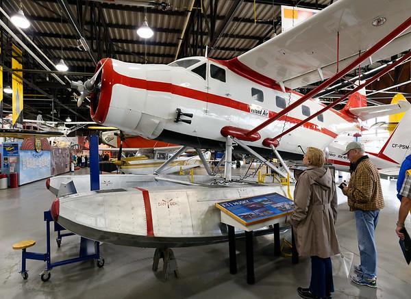 Sault Ste. Marie, Bushplane Museum, F-11 Husky