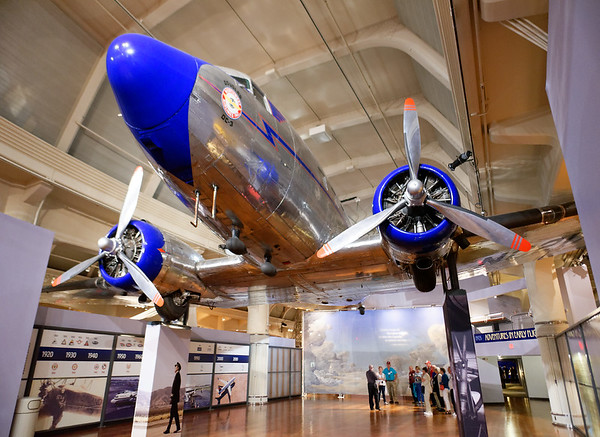 Detroit, Ford Museum, Douglas DC-3, painted in Northwest Airlines colors