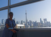 Toronto Ontario, at the airport, last look
