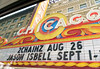 Chicago tour, Chicago Theatre marquee