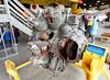 Sault Ste. Marie, Bushplane Museum, Canadair CL-215 18 cylinder rotary engine
