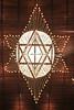 MX 1548  Ceiling light, Sinagoga Maguen David, MEXICO CITY, Mexico