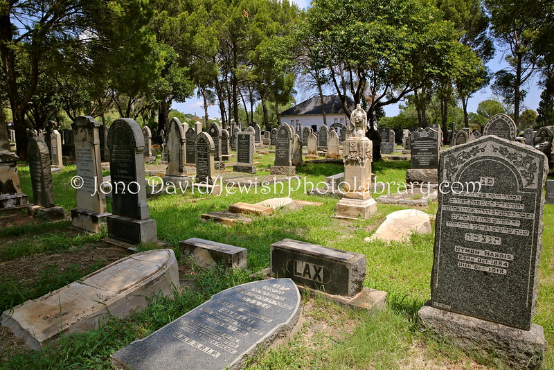 ZA 16693  Jewish Cemetery (old), at Memoriam Cemetery  Bloemfontein, South Africa