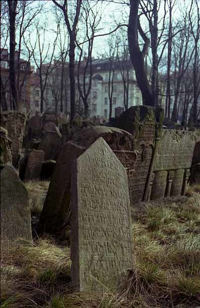 CZECH 1:21  Old Jewish Cemetery  PRAGUE, Czech Republic