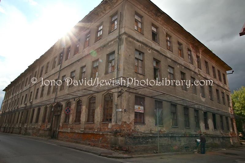 LT 1444  The old Jewish hospital   KAUNAS, LITHUANIA