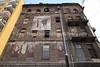 PL 1498  Prozn Street, ghetto tenemants  WARSAW, POLAND