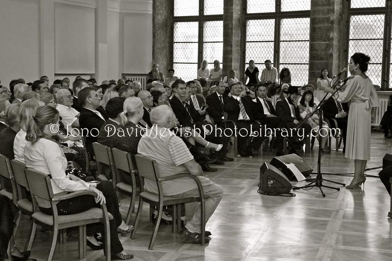 EE 1098  Israeli Ambassador to Estonia:Finland (2007~2011), Avi Granot, farewell concert event  Tallinn, ESTONIA