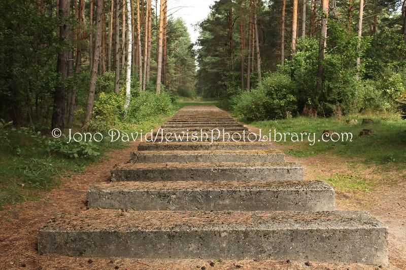 Mock railway, Treblinka II  Treblinka, POLAND