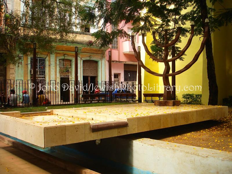 CU-D 127  Holocaust Memorial Park, OLD HAVANA, Cuba