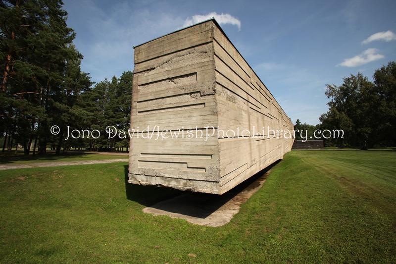 LV 965  Salaspils concentration camp site  Near RIGA, LATVIA