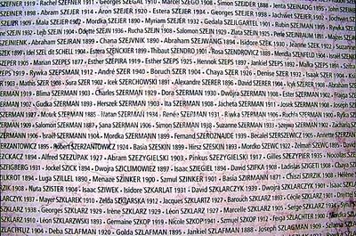 WE 389  Memorial de la Shoah  PARIS, France