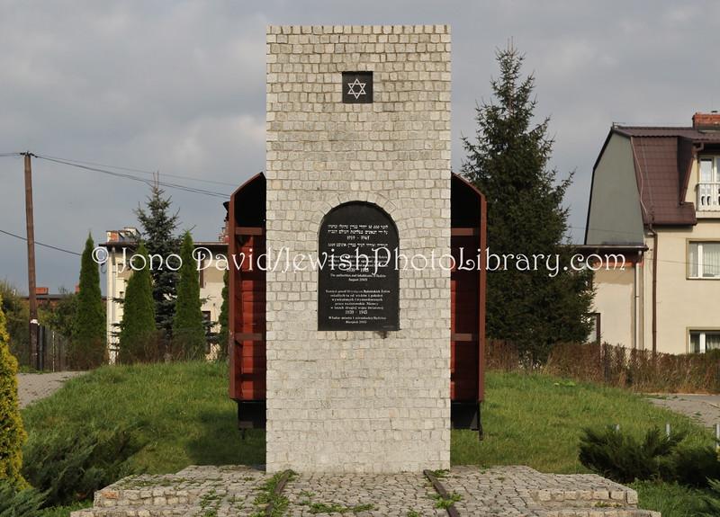 PL 2368  Ghetto memorial  BEDZIN, POLAND