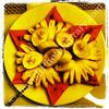 Magen David fruit salad  Moment Hotel, Hanoi, Vietnam
