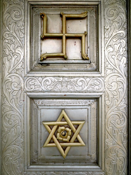 Door, Jain Temple, KOBE, JAPAN (April, 2013)
