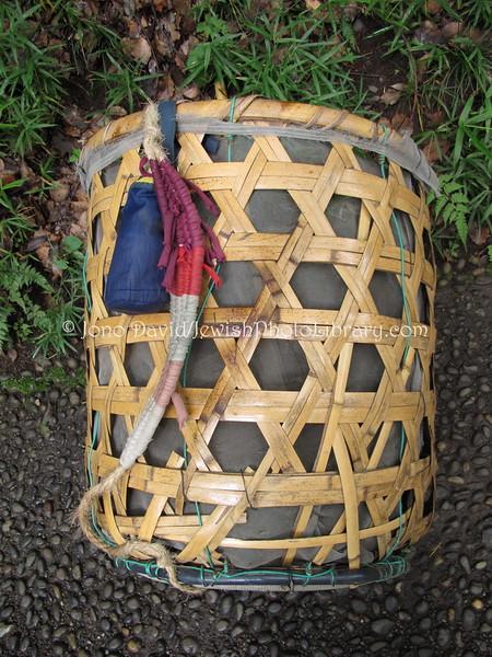 Basket  Meiji Shrine, Tokyo, JAPAN