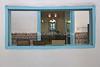 MA 5549  Women's gallery  Synagogue at Talmud Torah Jewish School  Sefrou, Morocco