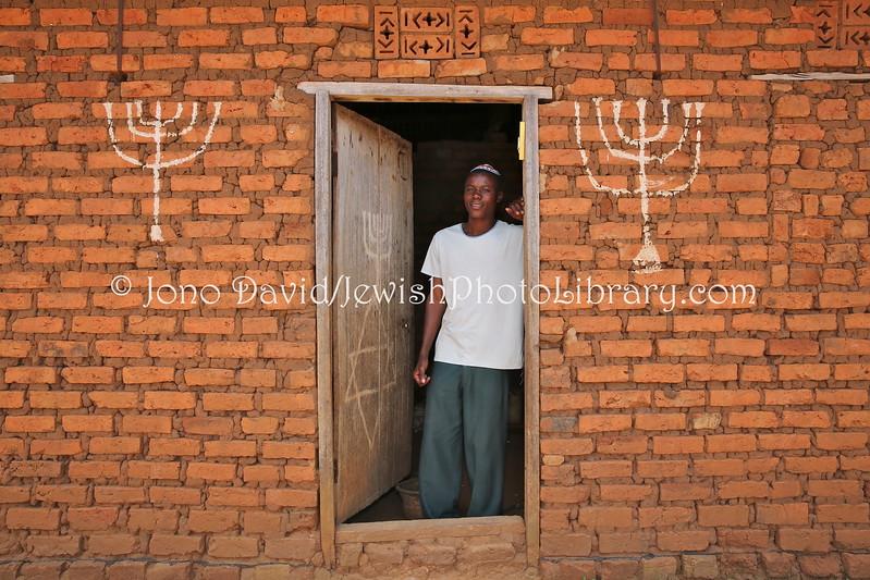 UG 459  Abayudaya Jews  Joseph Mwanika  Nalubembe Village, Kikubu District, Uganda