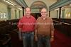 ZA 9144  Ernest (R, president) and Jeff Wayner (vice-president)  Brakpan Hebrew Congregation, Brakpan, South Africa