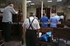 Evening service, Isaac Benarroch Synagogue  Melilla (Spain)