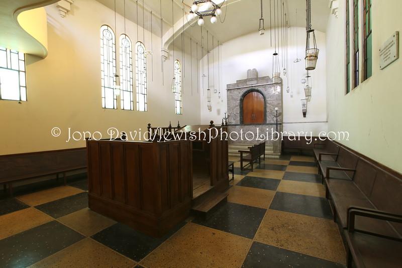 MA 6012  Ettedgui Synagogue (aka Tifereth Israel)  Old Medina, Casablanca, Morocco