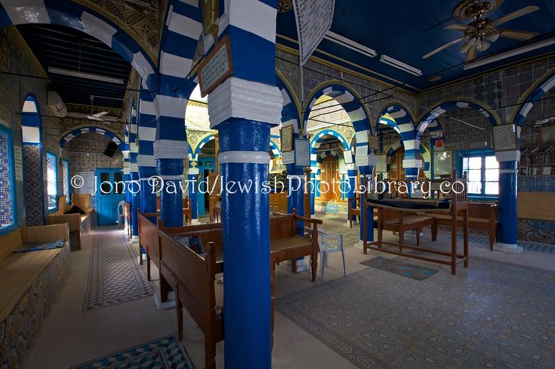TN 1493  Synagogue Cohanim Dightya  Hara Kebira, Djerba, Tunisia