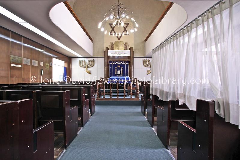 Agudas Ajim Synagogue, a k a Sinagoga de Avenida Parral  Mexico City, MEXICO