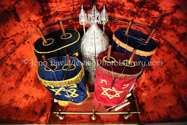 Torah, Siddur, Tallit, Kippa *** See PHOTOS in MENU BAR for All HHJPL Photos ***