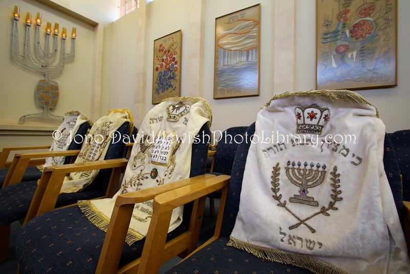 ZA 2158  Torah covers, Beit Menorah Progressive Hebrew Congregation  Pretoria, South Africa