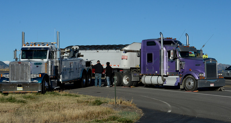 Semitrailer Accident