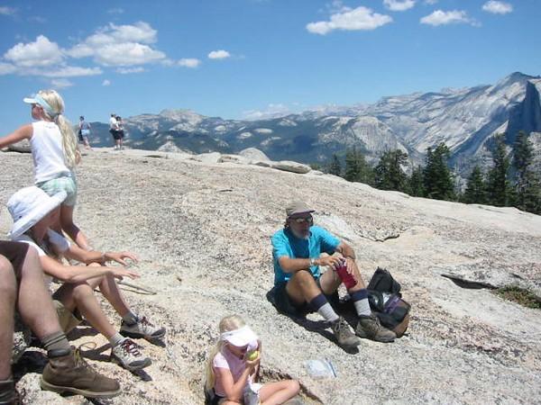 Hike in Yosemite National Park