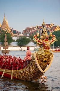 Royal Barge Narai Song Suban - H.M. King Rama IX