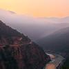 The Himalayas. Sunrise over Ganga River / Гималаи. Рассвет над Гангой