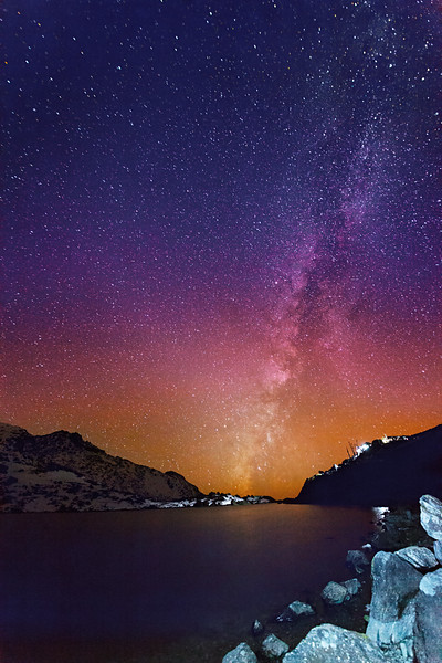 Stars of Gosaikunda lake / Звезды озера Госайкунда