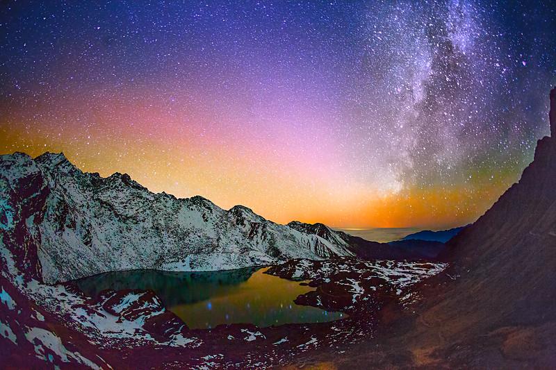 The Himalayas. Starry Lake / Гималаи. Звездное озеро