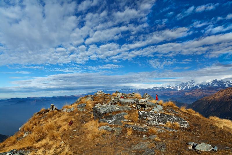 The Summit of Chandrashila Mt. 11.11.11. The Himalayas / Вершина г. Чандрашила, 11.11.11. Гималаи