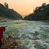 Worshipping the Sacred River / Поклонение священной реке