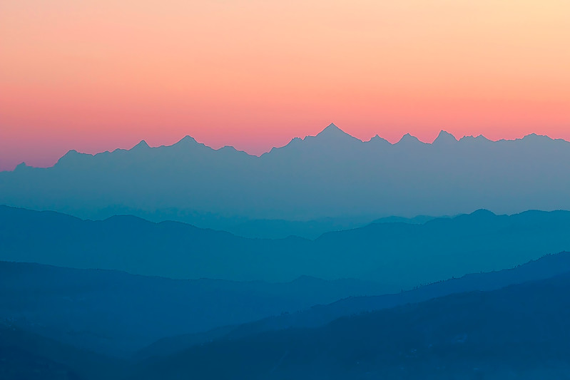 The Himalayas. Poetry of Dawn / Гималаи. Поэзия зари