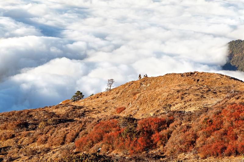 Cloud-Pickers or On the Verge of the Cloudy Sea / Сборщики облаков или На краю облачного моря
