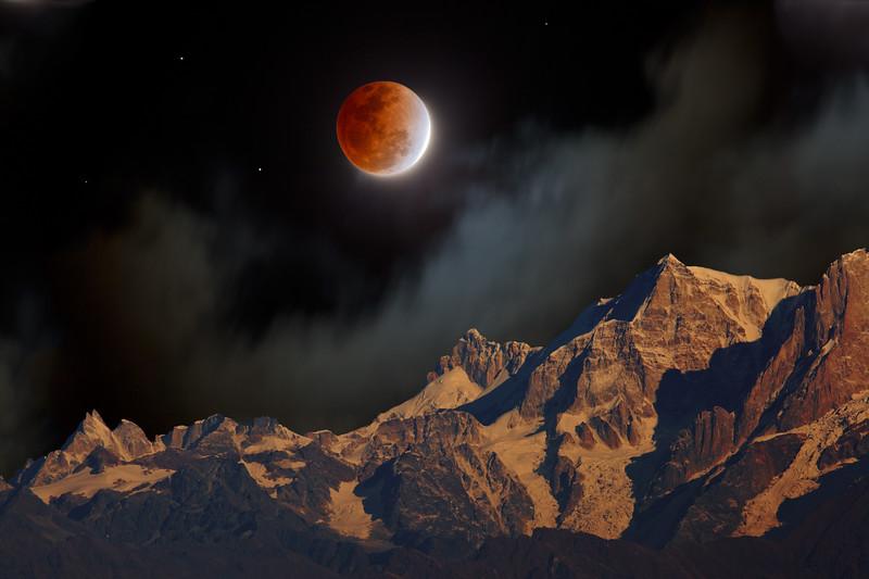 The Himalayas. Lunar Mystery / Гималаи. Лунная мистерия