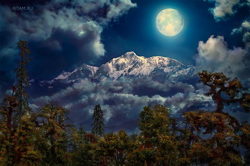 The Himalayas - A Moon Mystery / Гималаи - Лунная мистерия
