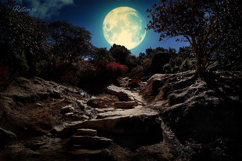 Гималаи - Лунная тропа / The Himalayas - a Moon Path