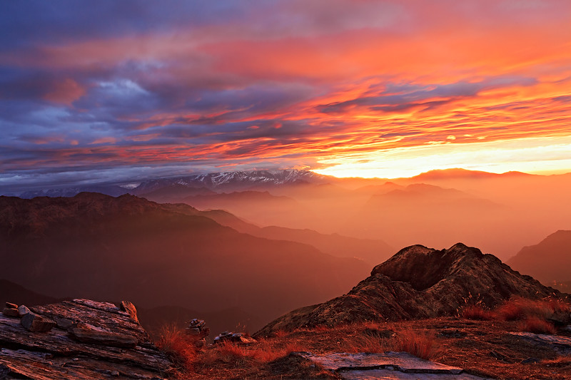 The Himalayas. New Day - 11.11.11 / Гималаи. Новый день - 11.11.11