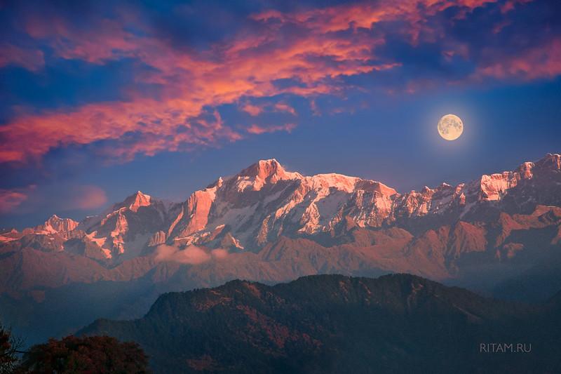 Лунная сказка Гималаев / A Moonlight Fairytale of the Himalayas