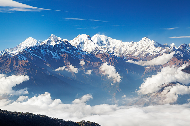 The Himalayas Majestic / Гималаи величественные