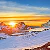 Meeting Sunrise at the Sun-Lake / Встречая восход на Озере Солнца
