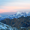 The Himalayas. Sunrise at Laurebina La Pass - Nepal