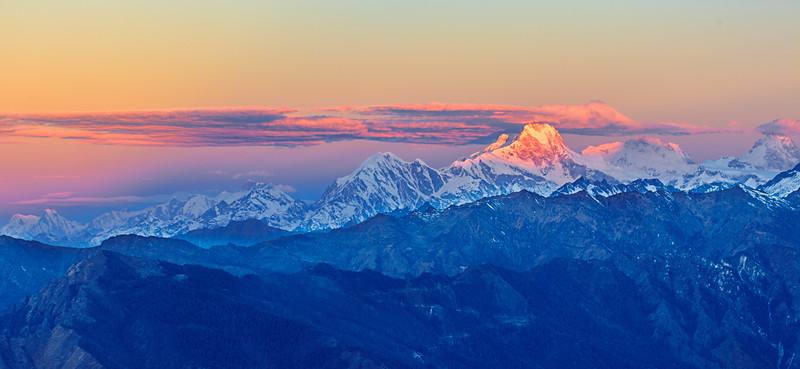 The Himalayas. Face of a Deity / Гималаи. Лик Божества