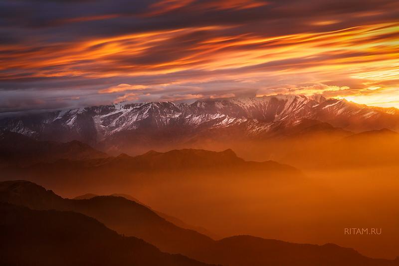 Гималайский рассвет - 11.11.11 / Himalayan Dawn - 11.11.11